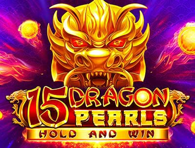 15 Dragons Pearls Hold and Win