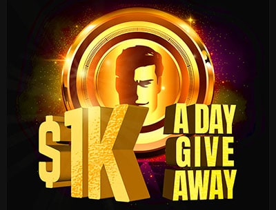 Daily $1K Giveaway